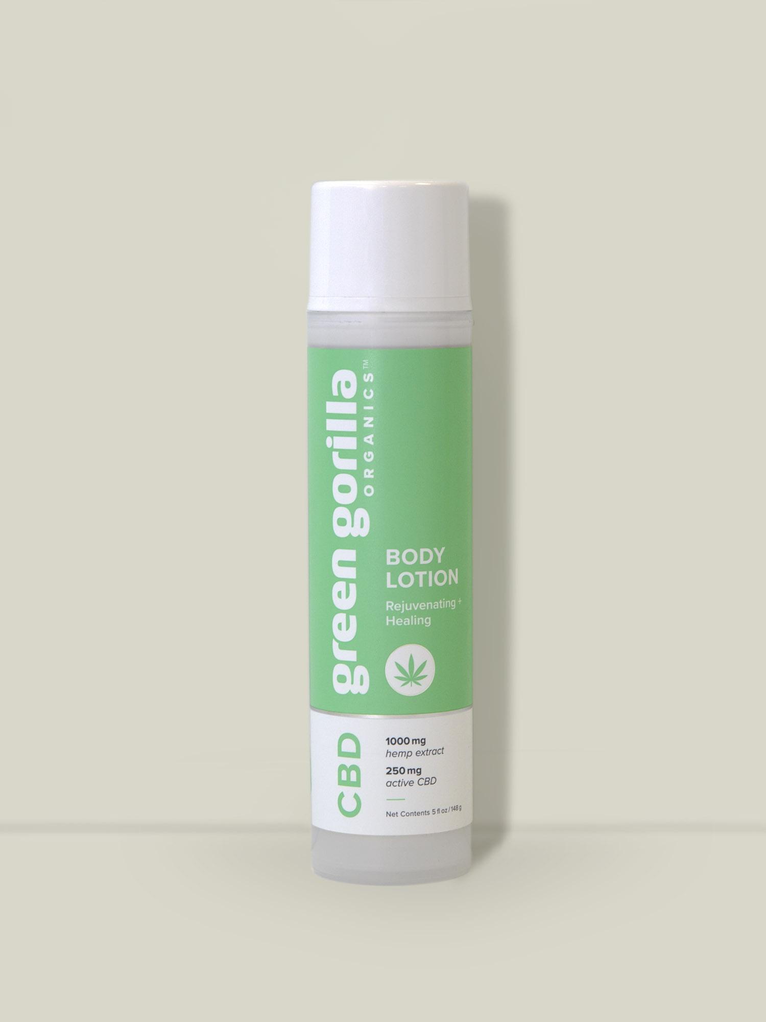 Organic Botanical CBD Lip Balm - 20mg | Green Gorilla